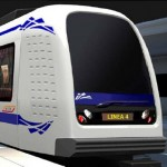 AnsaldoBreda Line 4 Driverless train